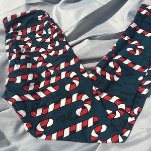 LuLaRoe Pants - Lularoe holiday leggings
